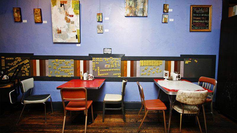 Melt eclectic cafe cincinnati vegan for Eclectic restaurant