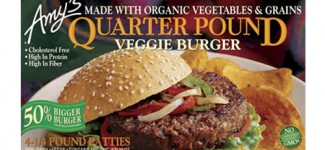 Quarter Pound Veggie Burger by Amy's
