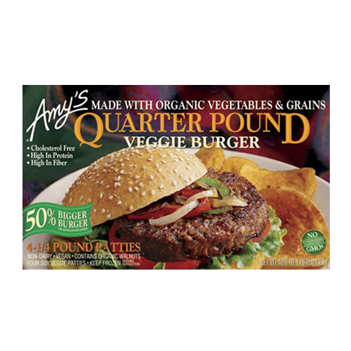 Quarter Pound Veggie Burger by Amy's