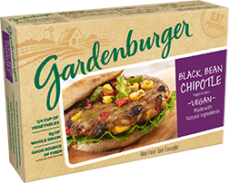 Gardenburger – Black Bean Chipotle Veggie Burger