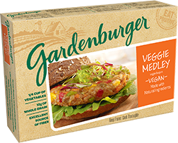 Gardenburger – Veggie Medley Veggie Burger