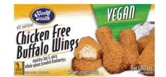 Health is Wealth Chicken-Free Buffalo Wings