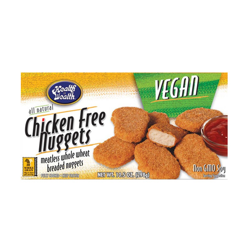 Health is Wealth Chicken-Free Nuggets