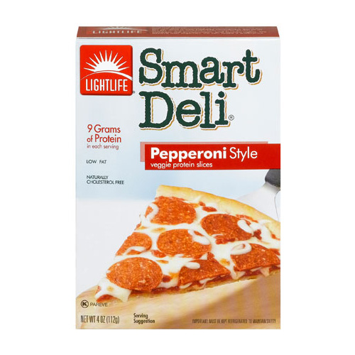 Lightlife Smart Deli – Pepperoni