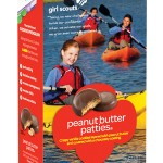 Vegan Girl Scouts Cookies - Peanut Butter Patties