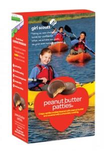 Vegan Girl Scouts Cookies - Peanut Butter Patties