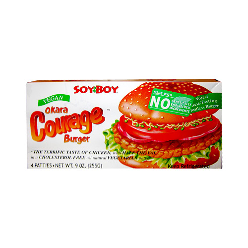 SoyBoy Okara Courage Burger