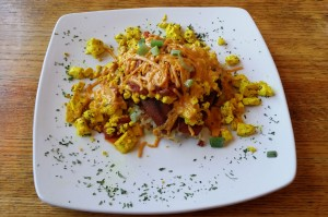 Allyn's Cafe Vegan Cowboy Eggs